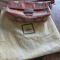 Rare Embroidered Fendi Bag Photo