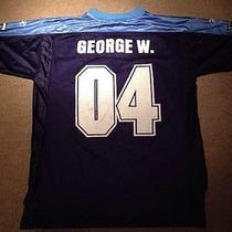 Rare George W. Bush Nfl Football Tennessee Titans Reebok Jersey Shirt 04 Size M Photo