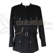 Rare Gucci Belted Sports Jacket Coat Overcoat  Photo