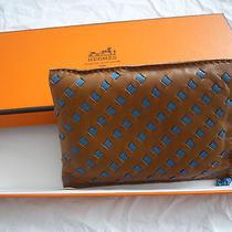 Rare Hermes Case for Sunglasses Iphone Plaited Lamb Photo