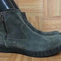 Rare John Varvatos Kerouac Double Zip Gum Sole Calfskin Leather Boots Sz 10.5 Photo