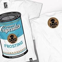 Rare Johnny Cupcakes Men's T-Shirt Size Large Campbell Soup Can Brand New Photo