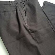 Rare Kenneth Cole Reaction Mens Wool Dress Pant Charcoal Gray 31 X 30 Flat Front Photo