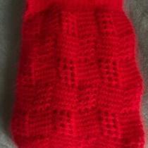 Rare La Boule De Neige Angora Lambs Wool Yarn Handmade Scarf Photo