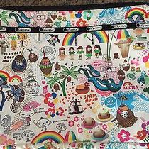 Rare Lesportsac Onolicious Hawaiian Retired Print Computer Sleeve Zip Close Photo