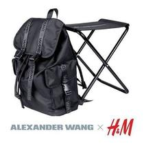 Rare Limited Edition Alexander Wang X h&m Backpack Chair Brand New Photo