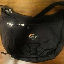 Rare Lowe Alpine Express Messenger Bag in Black Perfect Condition Photo