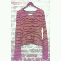 Rare Maison Martin Margiela Tiger Print Mohair Sweater Rare Photo