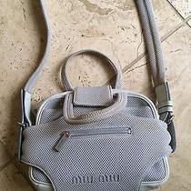Rare Miu Miu White Handbag Photo