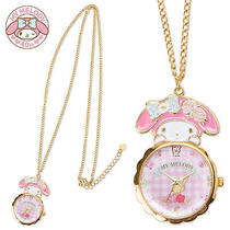 Rare My Melody 40th Pendant Watch Necklace Sanrio Japan Limited Kawaii Womens Photo