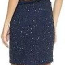 Rare New Haute Hippie Blue Junk Sequin Dress Midnight Sz Medium M 695 Photo
