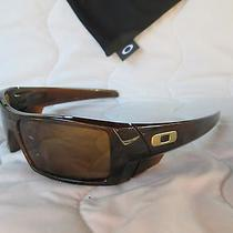 Rare New Oakley Gascan Sunglasses 03-472 Polished Rootbeer / Bronze Photo