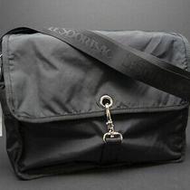 Rare Nwt Lesportsac Campus Messenger  Black  Crossbody or Shoulder Bag Photo