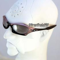 Rare Oakley Splice Black Chrome W/ Black Frame Black Iridium Lenses 03-721 Photo