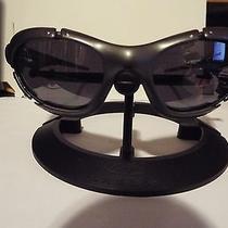 Rare Pair of Dark Sliver Oakley Plate Sunglasses Photo