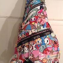 Rare Printtokidoki Lesportsac Spiaggia  Nuvola Backpack Iphone Bag   Nwot Photo