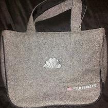 Rare-Ralph Lauren Polo Jean Co.-Nbc-Peacock-Television Logo- Wool Purse/handbag Photo