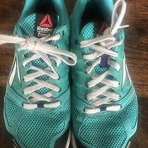 Rare Reebok Crossfit Nano 2.0 J99449 Women Training Shoes Teal Blue Green Size 9 Photo