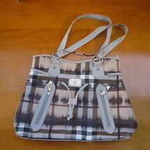 Rare Retired Authentic Large Burberry Purse- Awesome Condition- Rare Style-  Photo