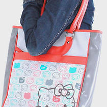 Rare Sanrio Hello Kitty Vinyl Tote Bag 2009 35th Anniversary Limited Edition  Photo