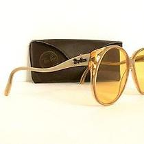 Rare Stunning Vtg Ray-Ban Christie L9810 Ambermatic Pearl Sunglasses & Case Photo