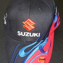 Rare Suzuki Car Truck Motor Racing Black Quality Beautiful Fancy New Hat Cap Photo