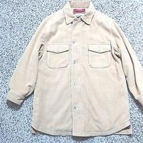 Rare Tommy Bahama Relax Jacket  Beige Shirt Silk/cotton  Size S Small Unique  Photo