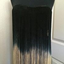 Rare Topshop London Tassel Bodycon Sold Out Unique  Size S Xs Usa Photo