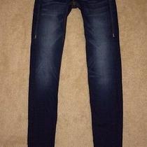 Rare True Religion Womens Jeans 25 X 34 Stella Qt Skinny Leg Flap Mint Condition Photo
