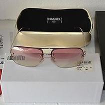 Rare Unique Authentic Chanel 4012 C.124/58 57-12 130 Sunglasses Made in Italy Photo