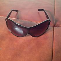 Rare Unique Black Versace Sunglasses Men's Women's Unisex Amazing Must See Wow Photo