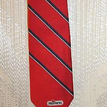 Rare Unique Hostess Brand Red Neck Tie Christian Dior Twinkies Zingers Cupcakes Photo