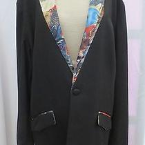 Rare Unique Mens Volcom Vopd Tux Prom  Runway Blazer Sport Jacket 44 R Photo