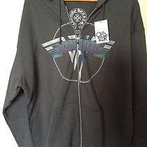 Rare Van Halen Chrome Hearts Chaser Zip Hoodie Hooded Sweatshirt Made in Usa Xxl Photo
