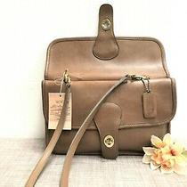 Rare Vintage Coach Twin Clutch in Putty Leather -  Nyc Made Style  9380 - Euc Photo