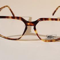 Rare Vintage Lunettes Lacoste 58-16 145 Brown Tortoise Sun/eyeglasses Frame New Photo