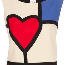 Rare Vintage Moschino Cheap and Chic Love Is Art Mondrian Top Shirt Photo