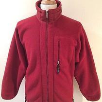 Rare Vintage Patagonia Retro X Fleece Zip Up Burgundy Jacket Sz M Made in Usa Photo