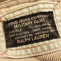 Rare Vintage Ralph Lauren Polo Jeans Co Military Pants Commando Cargo Pant 36x34 Photo