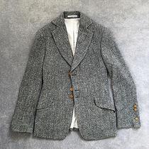 Rare Vivienne Westwood Man Label Grey Wool Tweed Fitted Blazer Size 48 Euro Photo