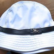 Rare White Burberry Hat Photo