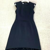 Rare Women's Akris Punto Dress Shiny Uk 8 Us 4 36 S Blouse Sweater Jumper Black  Photo