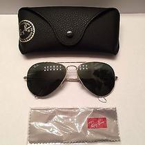 Ray Ban 3025 Aviator Large Metal Gold Photo