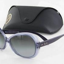 Ray Ban 4127 Violet 741/8g Sunglasses New 170 Photo