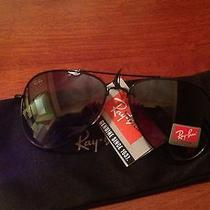 Ray Ban Aviator Black on Black Photo