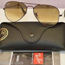 Ray Ban Aviator Large Metal Unisex Sunglasses Rb3025 014/51 Size 55 Nwot160 Photo