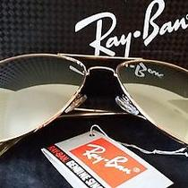 Ray Ban Aviator Sunglasses Black Gradient Lenses Rose Gold Frame Photo