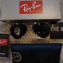 Ray-Ban Aviators 58mm Sunglasses- New Photo