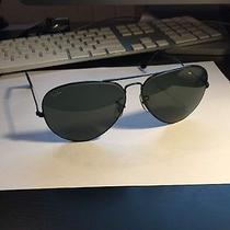 Ray Ban Black Aviator Photo