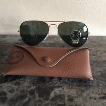 Ray Ban Black Aviator Sunglasses 100% Authentic Polerized Rb 3025 Nwt Blk/blk Photo